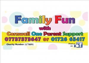 Cornwall One Parent Support Group poster