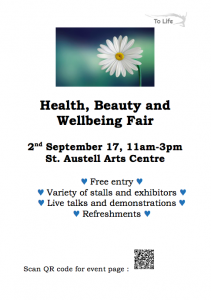 Free entry: stalls, exhibitors, talks & demonstratuions. Sat 2nd September