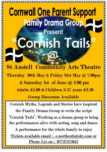 Cornish Tails Poster